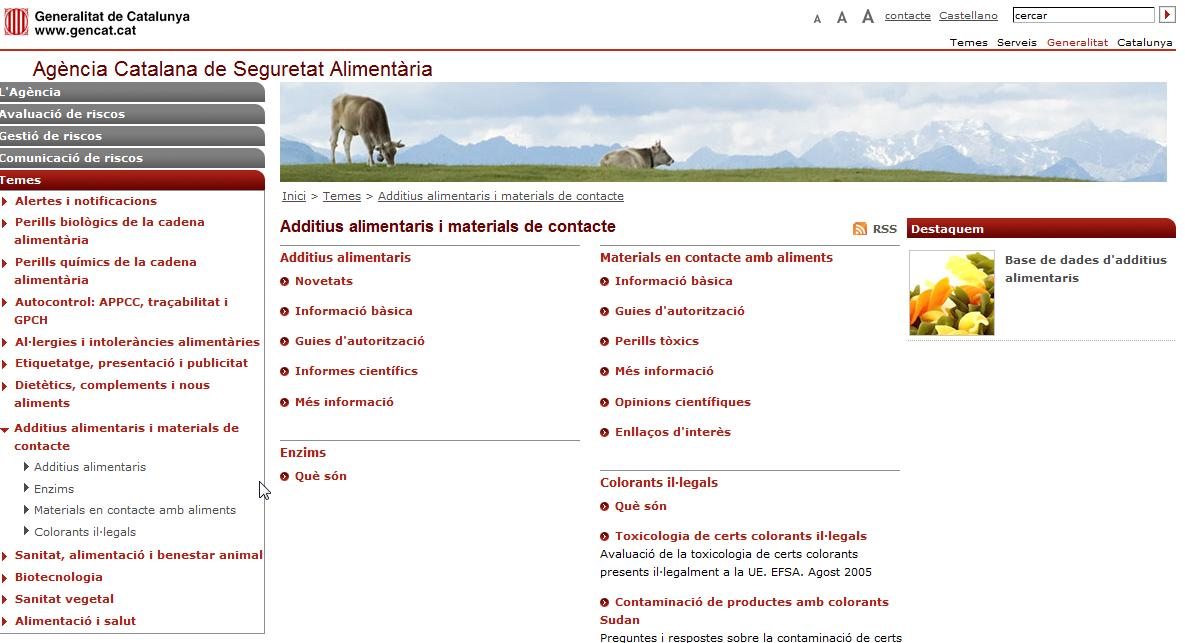 Additius alimentaris | Recurso educativo 35914