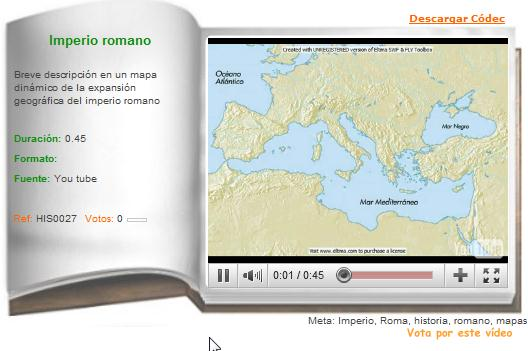 Imperio romano | Recurso educativo 36336
