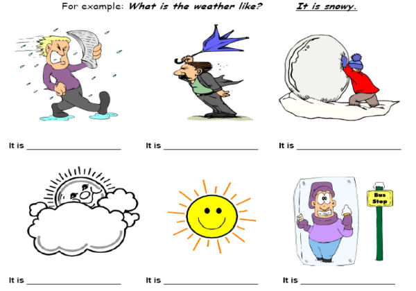 Weather Conditions Worksheets on weather station symbols worksheet