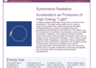 Synchrotron radiation | Recurso educativo 50011