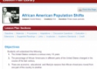 African American population shifts | Recurso educativo 71250