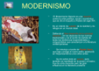 Modernismo | Recurso educativo 73052