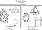 Rhyming fun | Recurso educativo 76983