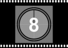 Filmstrip with Countdown PowerPoint Template | Recurso educativo 108083