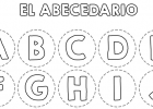 Abecedario para colorear y recortar | Recurso educativo 724691