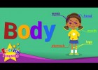 Kids vocabulary - Body - parts of body - Learn English for kids - English | Recurso educativo 764047