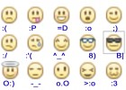 Emoticons and their corresponding symbols in the keyboard | Recurso educativo 770218