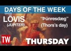 The Roman and Norse Origin of the Days of the Week | Recurso educativo 780838